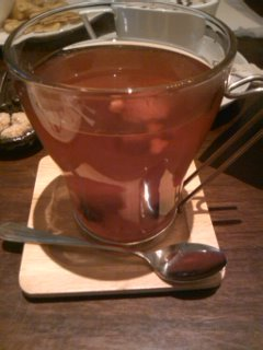 ベリーTea@Fig Cafe