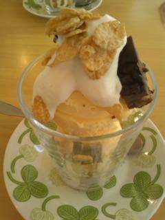 チョコレートパフェ@Cafe Cible