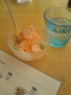 ランチのサラダ@Cafe Cible