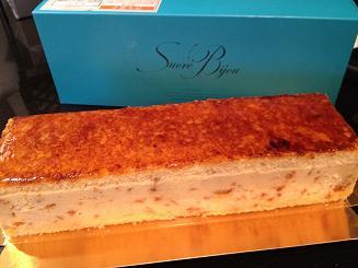 トロニアセミフレッドケーキ