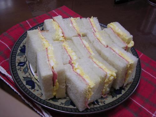 サンドイッチ@エリカちゃんのブルマンで