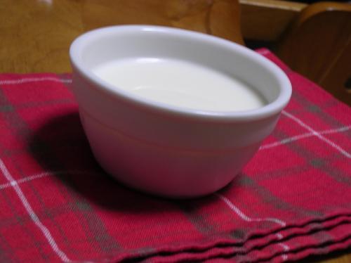 はちみつミルクプリン