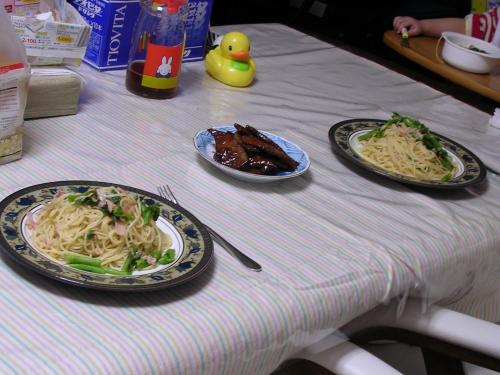 2日の食卓
