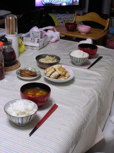 今日の食卓(4日)