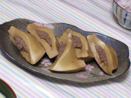 高野豆腐の肉詰め@おかあちゃん苦手食品