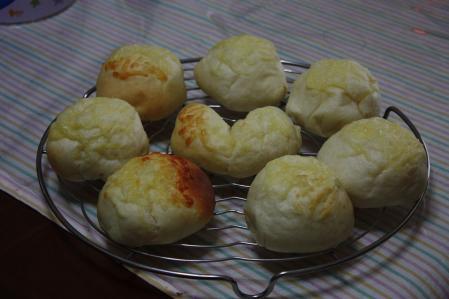 チーズ満載のパン@テスト撮影