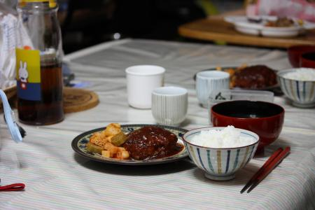 12日の夕食