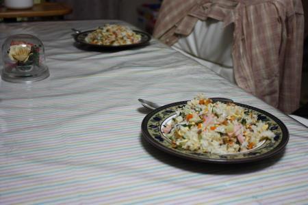 16日の夕食