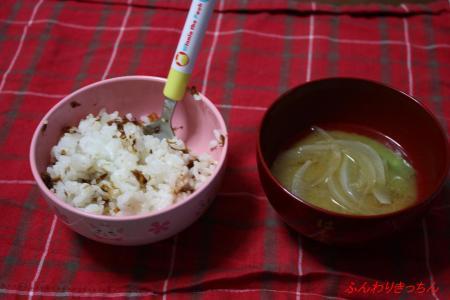 14日の夕食@むすめ
