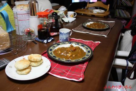 22日の夕食
