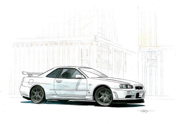 skylineGT-R R34