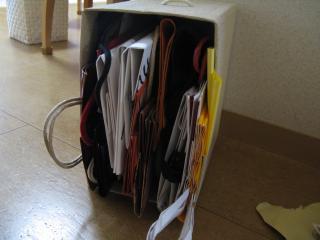 ストックの紙袋03