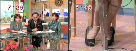 小島奈津子 めざましテレビ