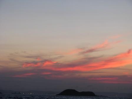 2008.09.03-夕焼け_富津岬