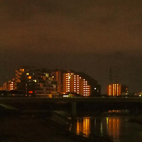 仙台市泉区八乙女付近の夜景