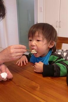 雛まつりケーキ社長