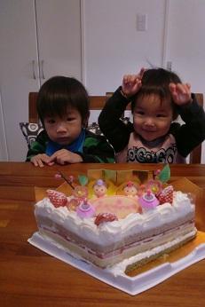雛まつりケーキ2