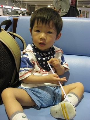 沖縄旅行 空港社長。