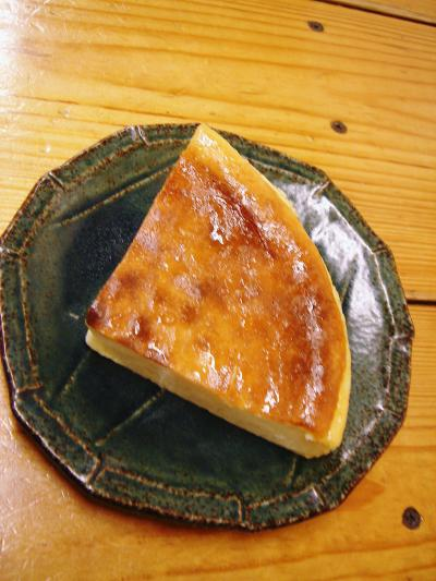 Kくんのチーズケーキ