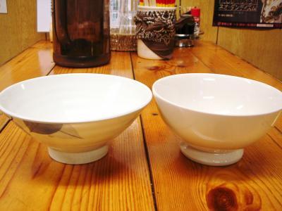 新旧ご飯茶碗