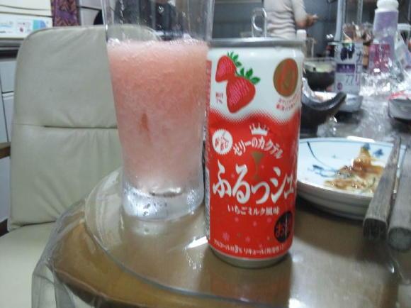 イチゴゼリー酒