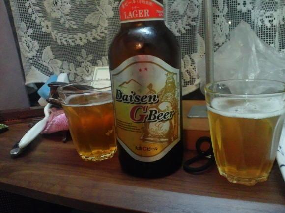 晩酌Gビール