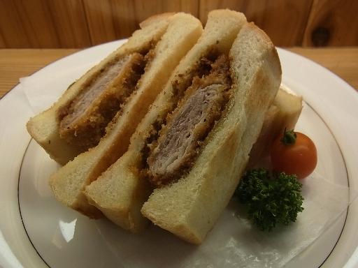 薩摩黒豚のカツサンド