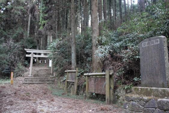 真弓神社の鳥居