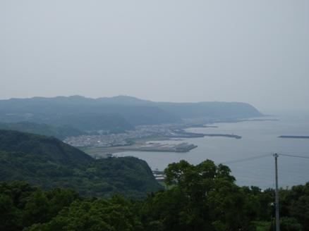 金剛頂寺から見た室戸岬