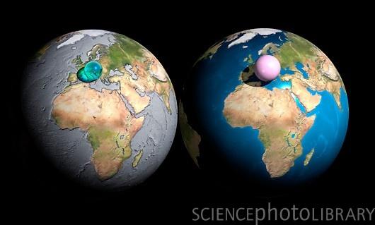 地球上の水