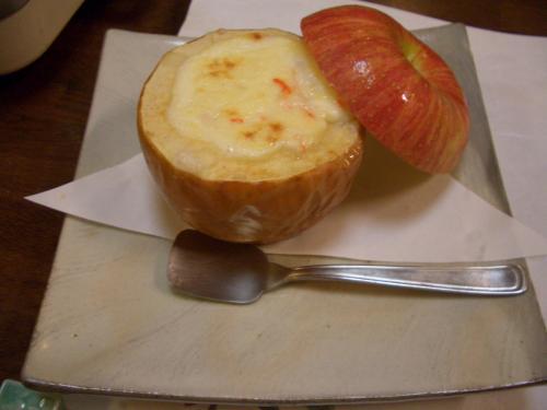 りんごグラタン