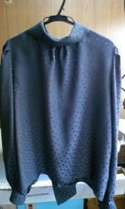 シルク 絹 水洗い プレス後