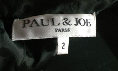 絹 シルク ブラウス 水洗い PAUL&JOE