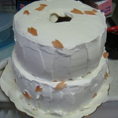 マキちゃんケーキ