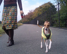 ママと散歩2