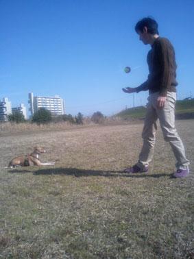 タロ助と遊ぶ2