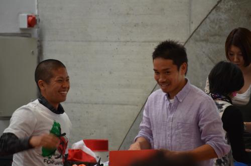 DSC 5119 convert 20110425203828 - イタリアで活躍する日本人サッカー選手たちのミラノチャリティーイベント