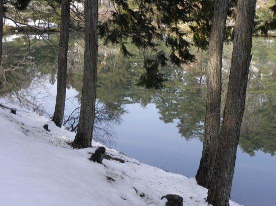 三段池にて