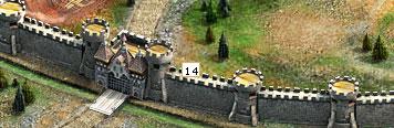 王・・・城壁