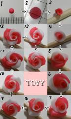 薔薇の作り方
