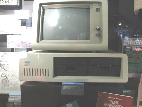 1981年に発売されたIBM-PC