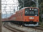 201系(中央特快高尾行き)