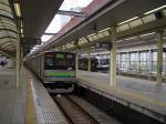 横浜線とのツーショット。