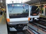 E233系&E257系 IN新宿