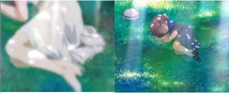 汐と、幻想世界の少女。