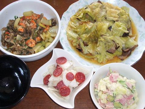 2008730〇野菜ばっかり