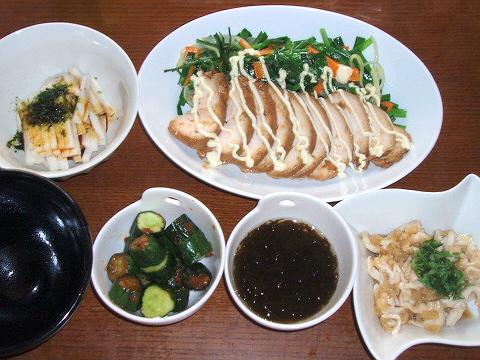 2008731夕ご飯