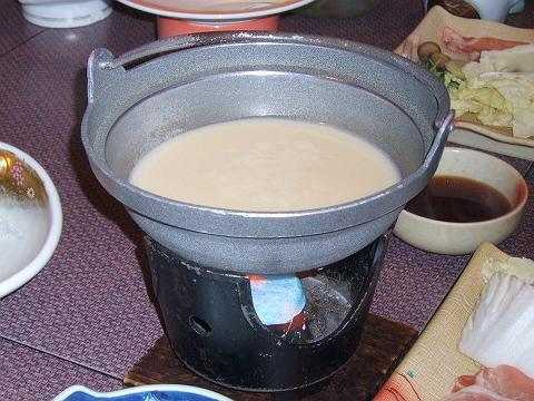 84豆乳なべ