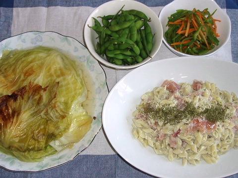 2008817夕ご飯