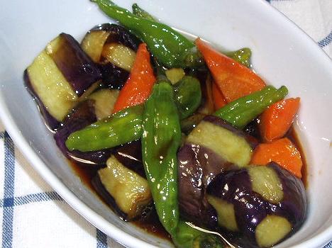 2008821夏野菜の揚げびたし